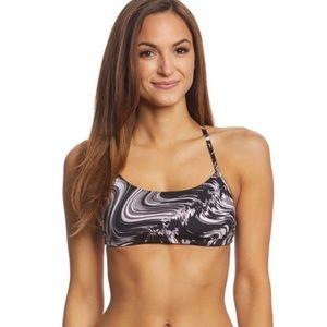NWT Nike Amp Surge Crossback Swim Top Medium